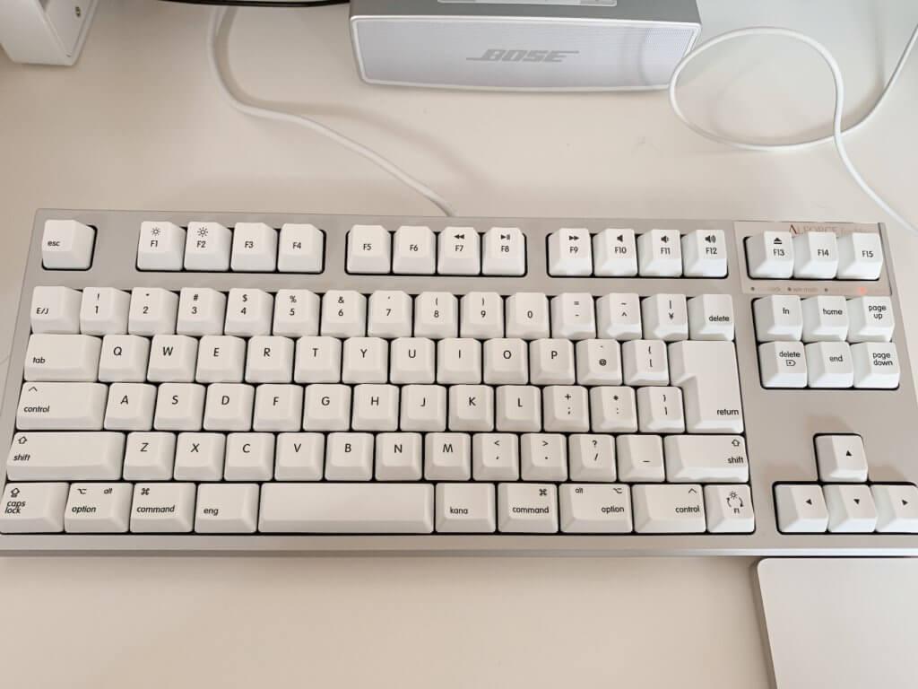 REALFORCE TKL for Mac / R2TL-JPVM-WH