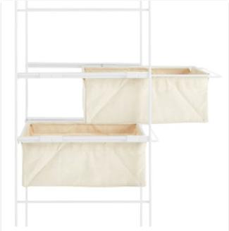 無印良品のユニットシェルフ棚の追加用帆布バスケット