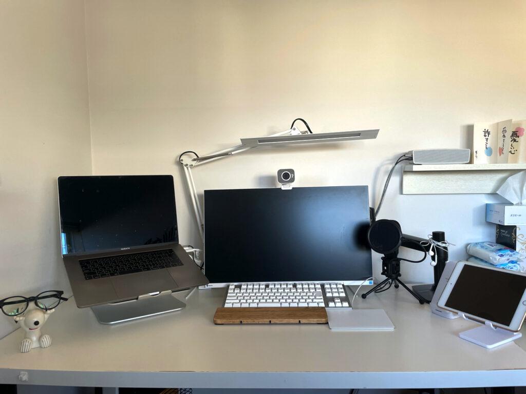 iPad miniスタンド設置前